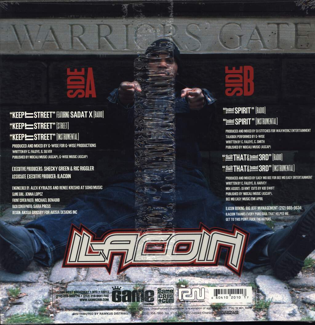 "Ilacoin: Keep It Street / This That & The 3rd / The Spirit, 12"" Maxi Single (Vinyl)"
