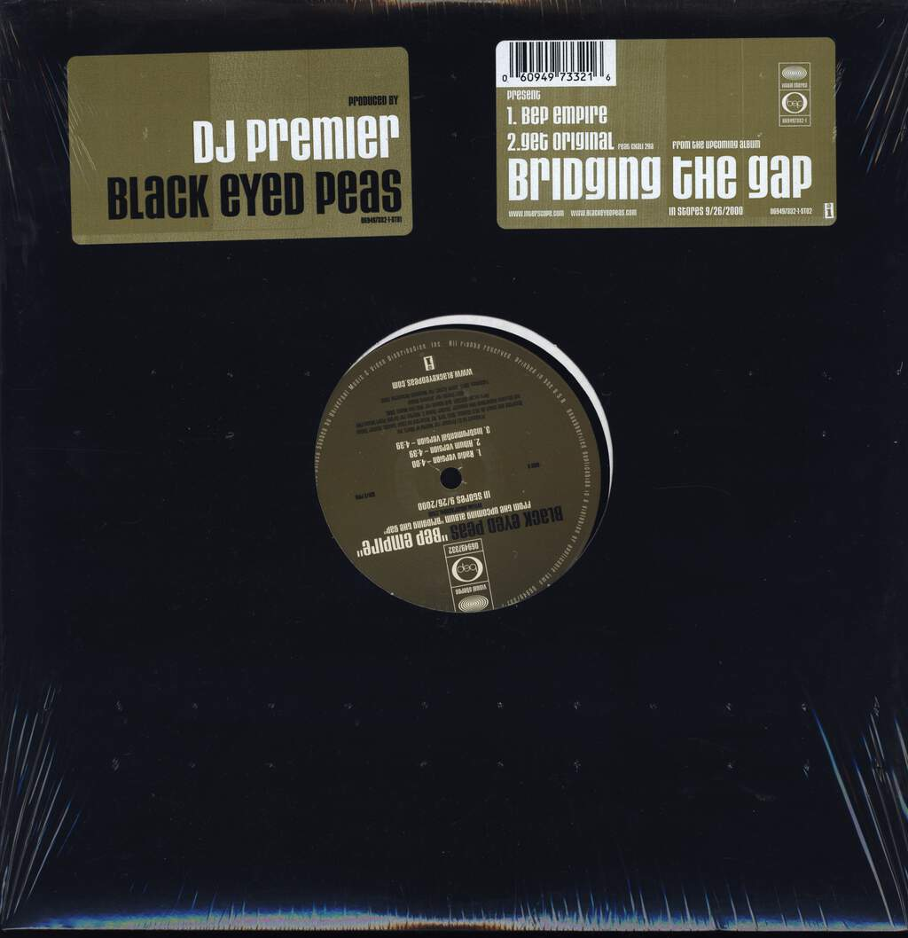 "Black Eyed Peas: BEP Empire / Get Original, 12"" Maxi Single (Vinyl)"