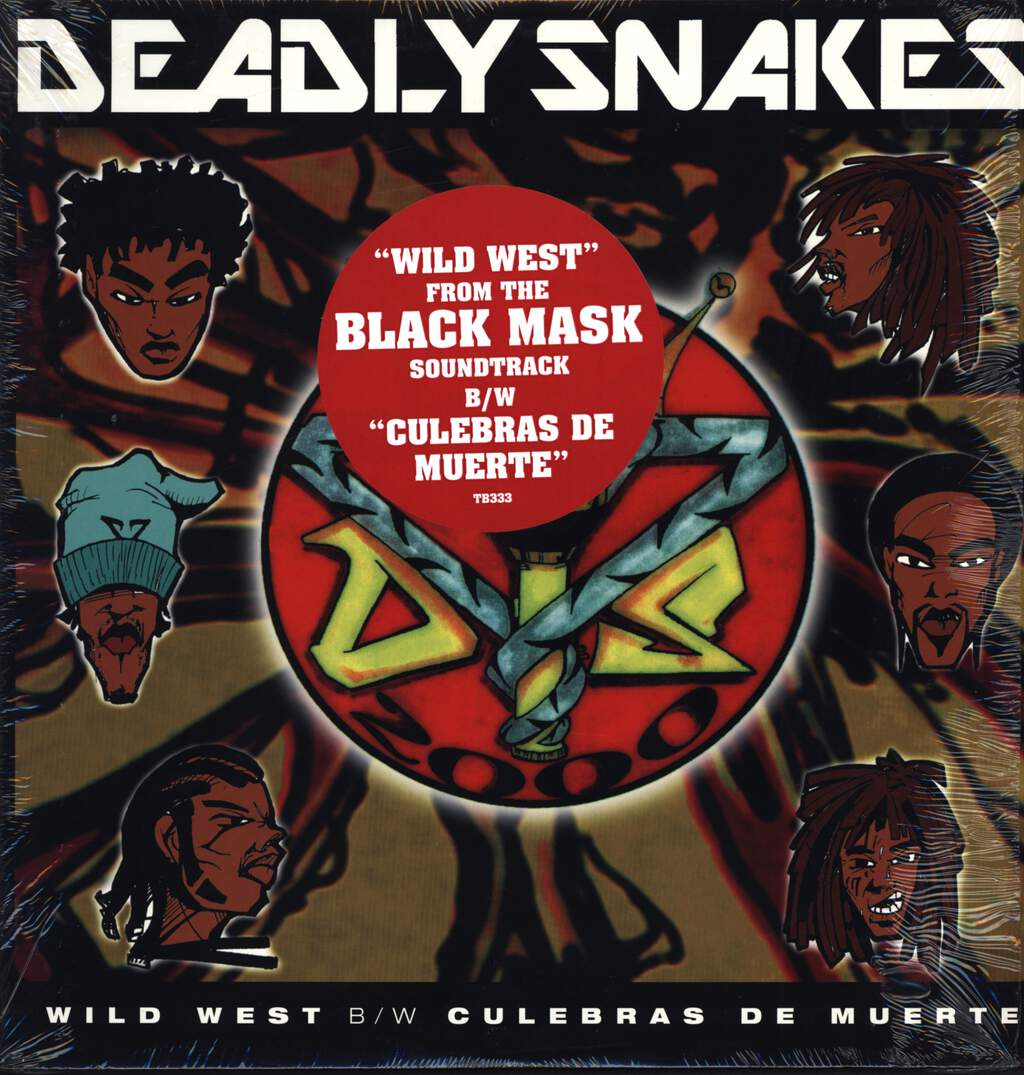 "Deadly Snakes: Wild West / Culebras De Muerte, 12"" Maxi Single (Vinyl)"