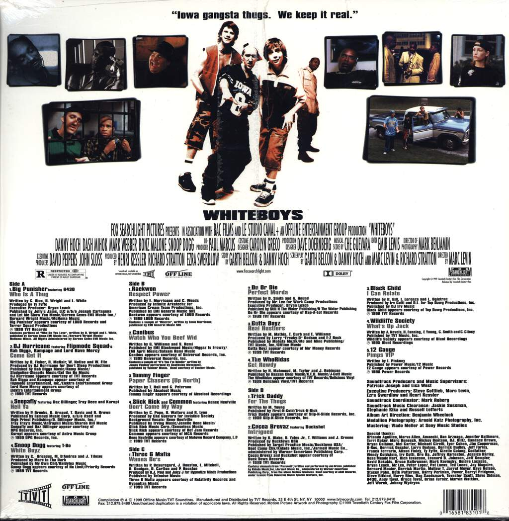 Various: Whiteboys - Original Motion Picture Soundtrack, LP (Vinyl)