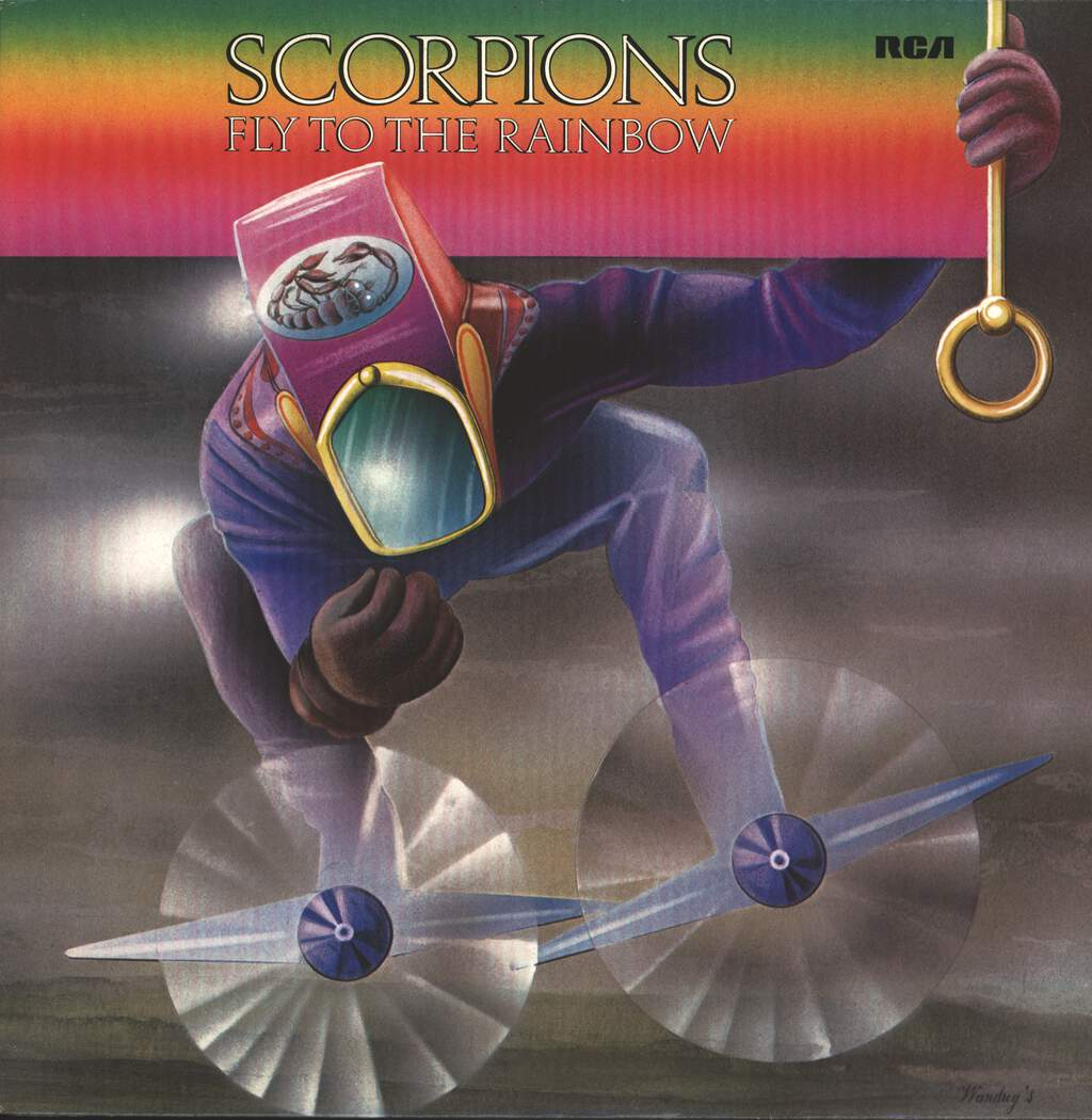 Scorpions: Fly To The Rainbow, LP (Vinyl)