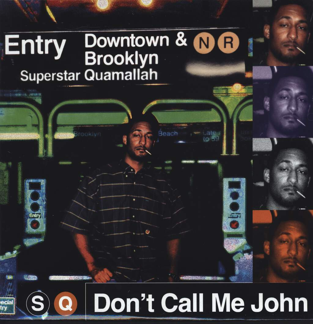 "Superstar Quamallah: Don't Call Me John EP, 12"" Maxi Single (Vinyl)"