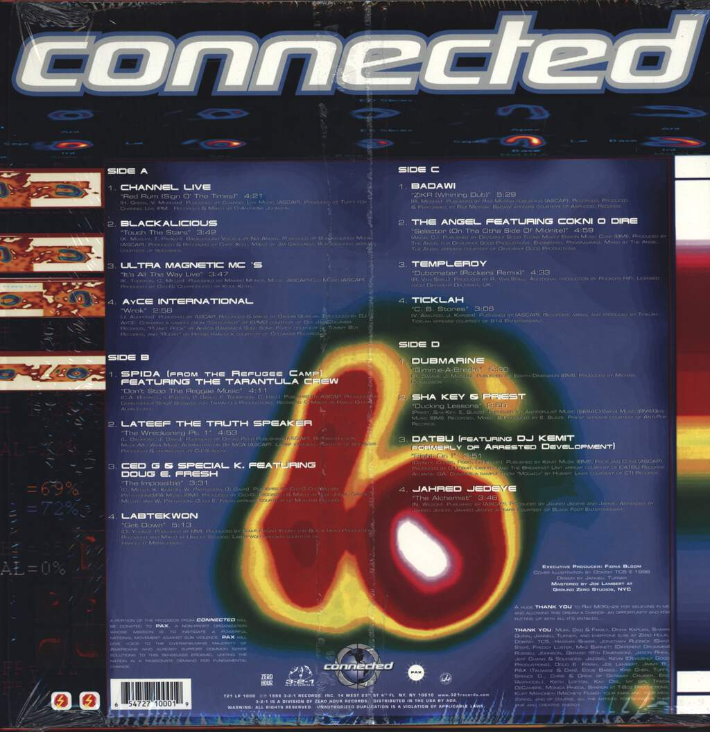 Various: Connected, LP (Vinyl)