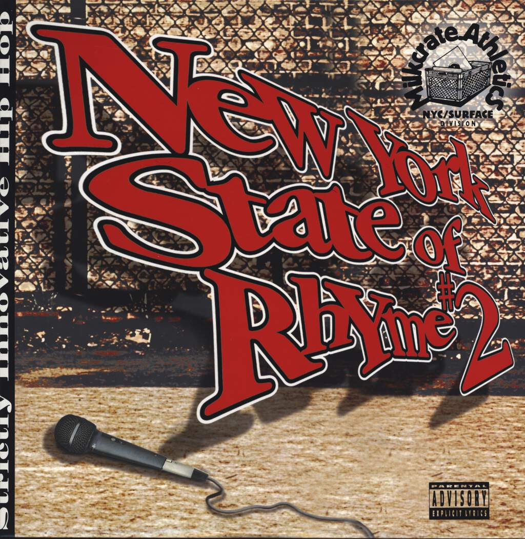 Various: New York State Of Rhyme #2, LP (Vinyl)