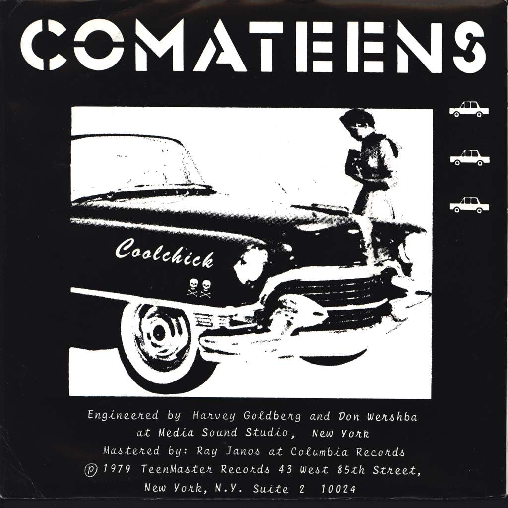 "Comateens: Cool Chick / Danger Zone, 7"" Single (Vinyl)"