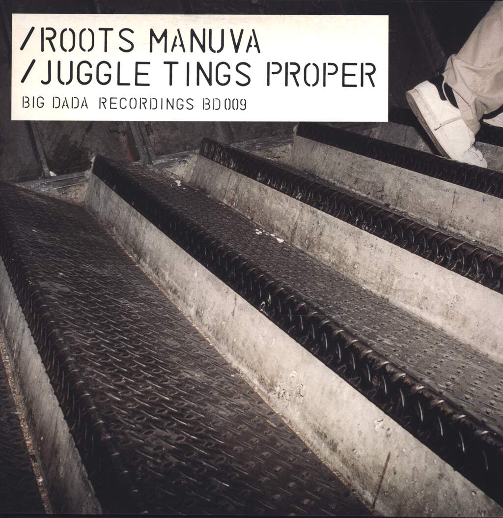"Roots Manuva: Juggle Tings Proper, 12"" Maxi Single (Vinyl)"