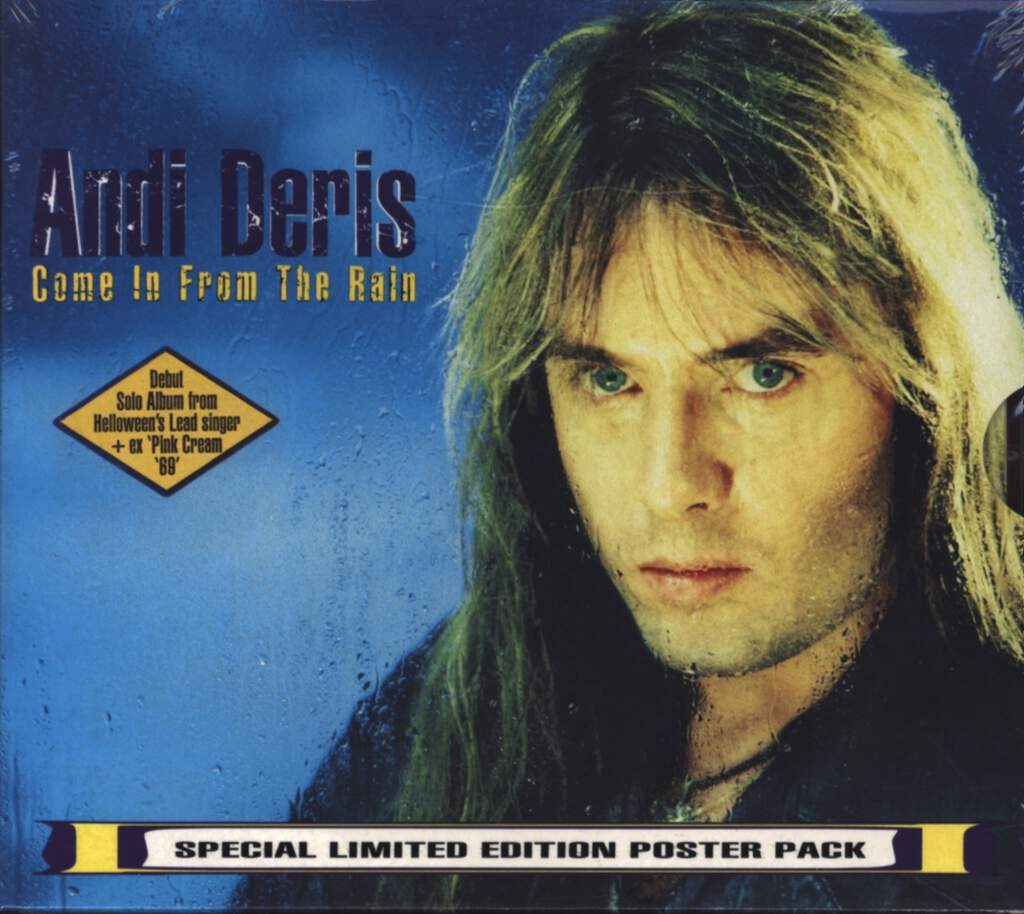 Andi Deris: Come In From The Rain, CD