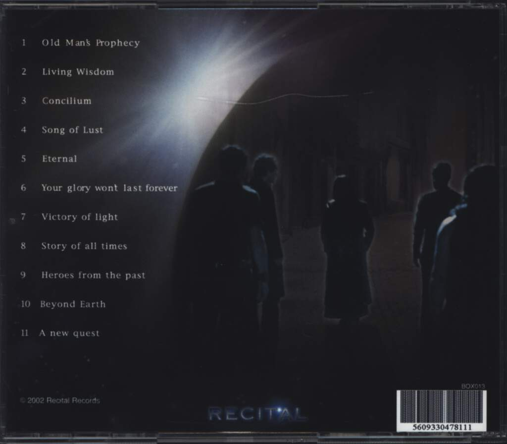Oratory: Beyond Earth, CD