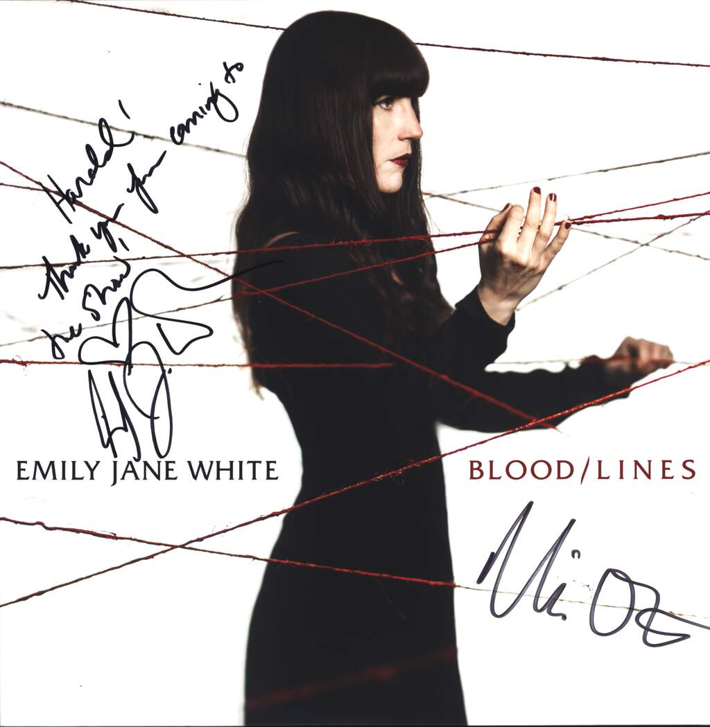 Emily Jane White: Blood / Lines, LP (Vinyl)