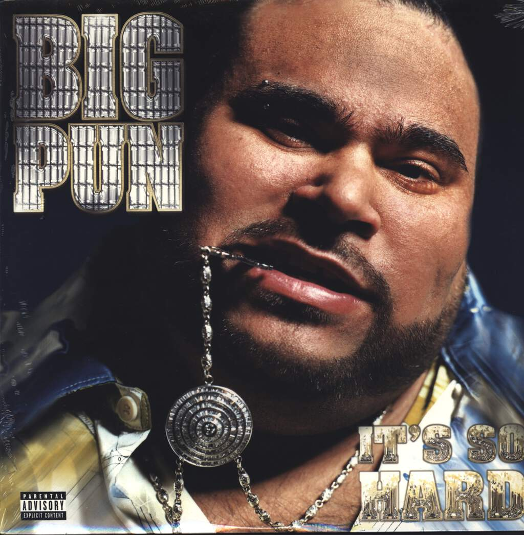 "Big Punisher: It's So Hard, 12"" Maxi Single (Vinyl)"