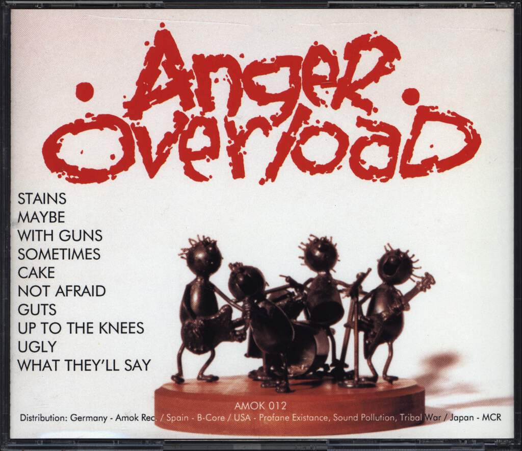 Anger Overload: Ugly, CD