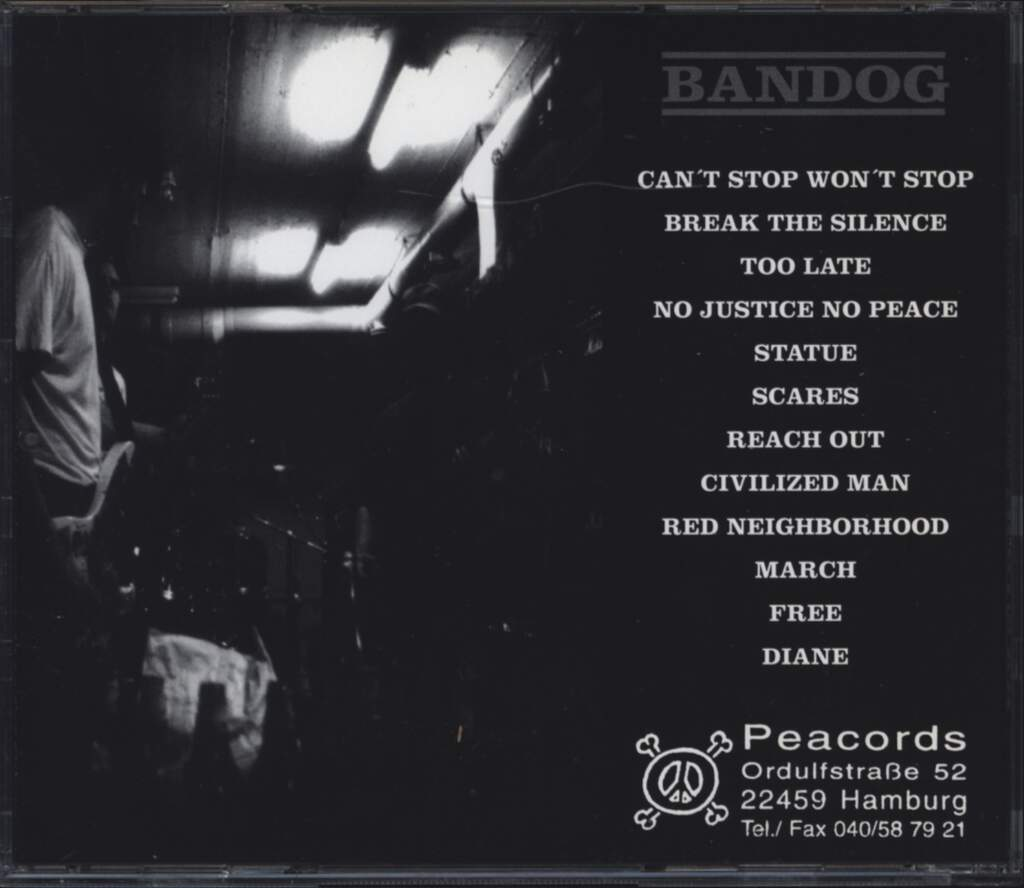 Bandog: My Time Is At Hand, CD