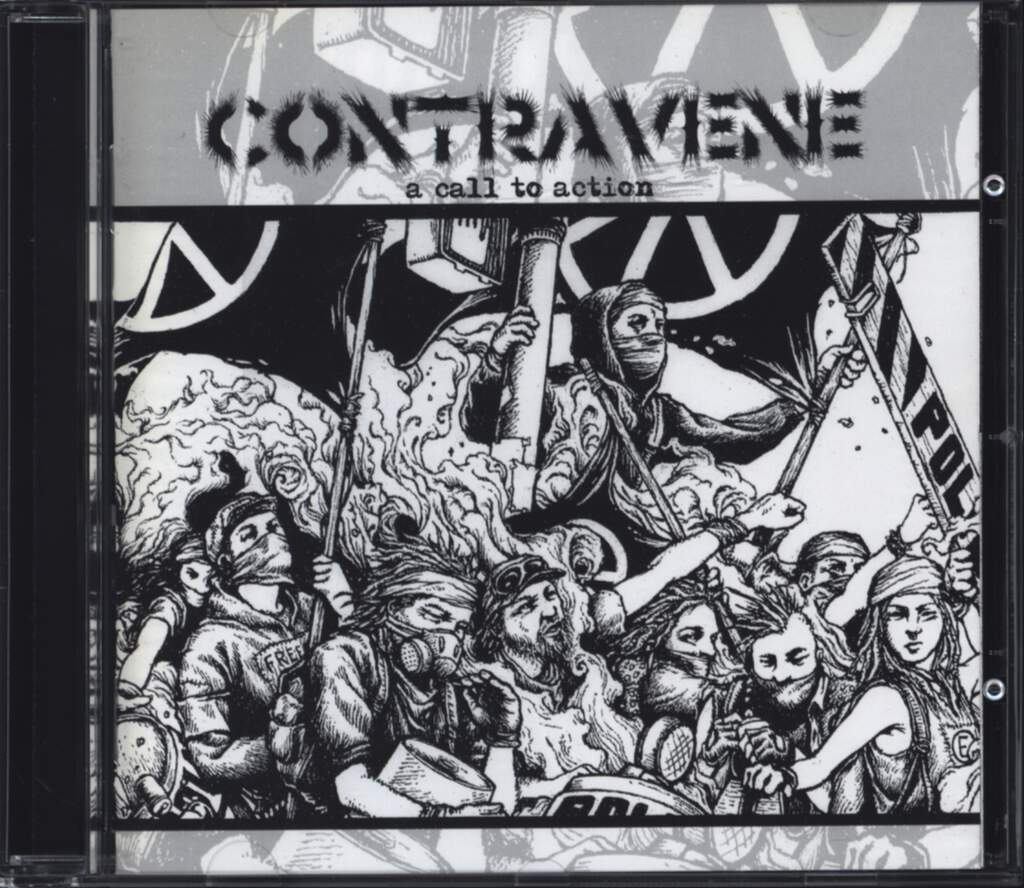 Contravene: A Call To Action, CD