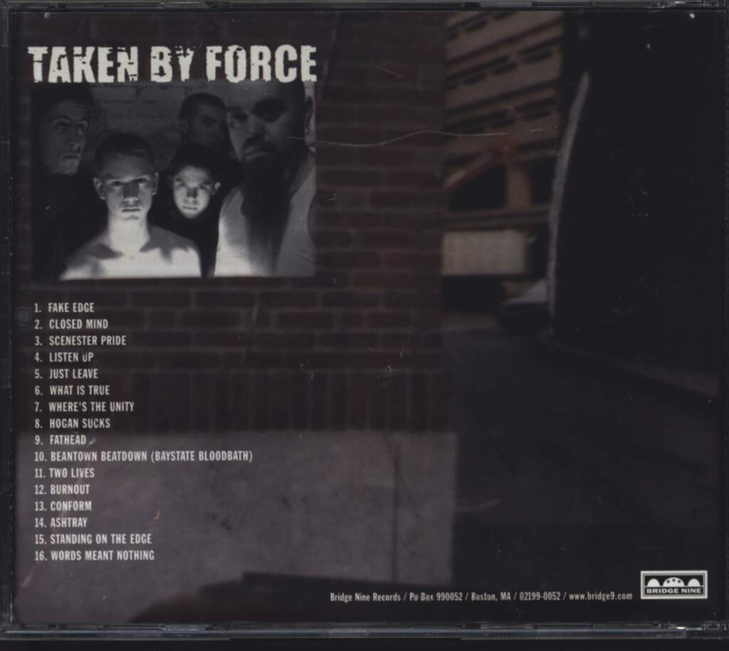 Proclamation: Taken By Force, Mini CD