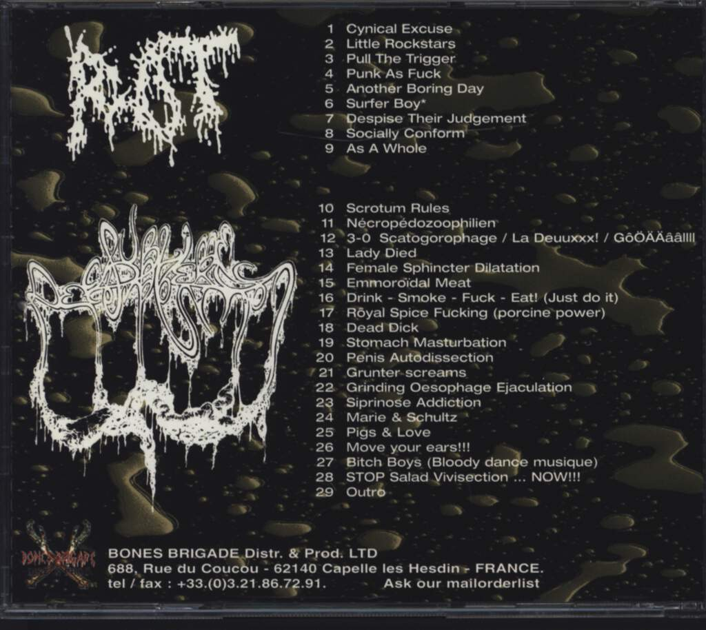 Rot: Rot / Sublime Cadaveric Decomposition, CD