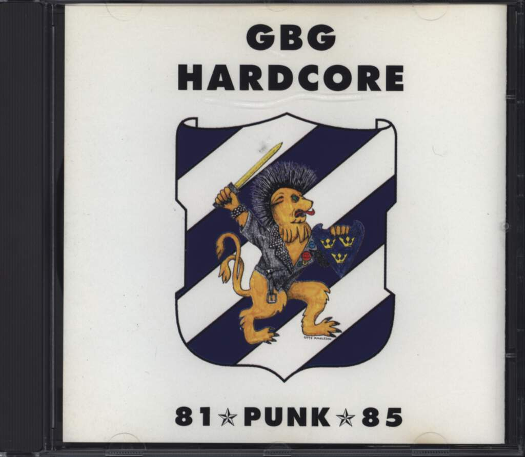 Various: GBG Hardcore - 81 Punk 85, CD