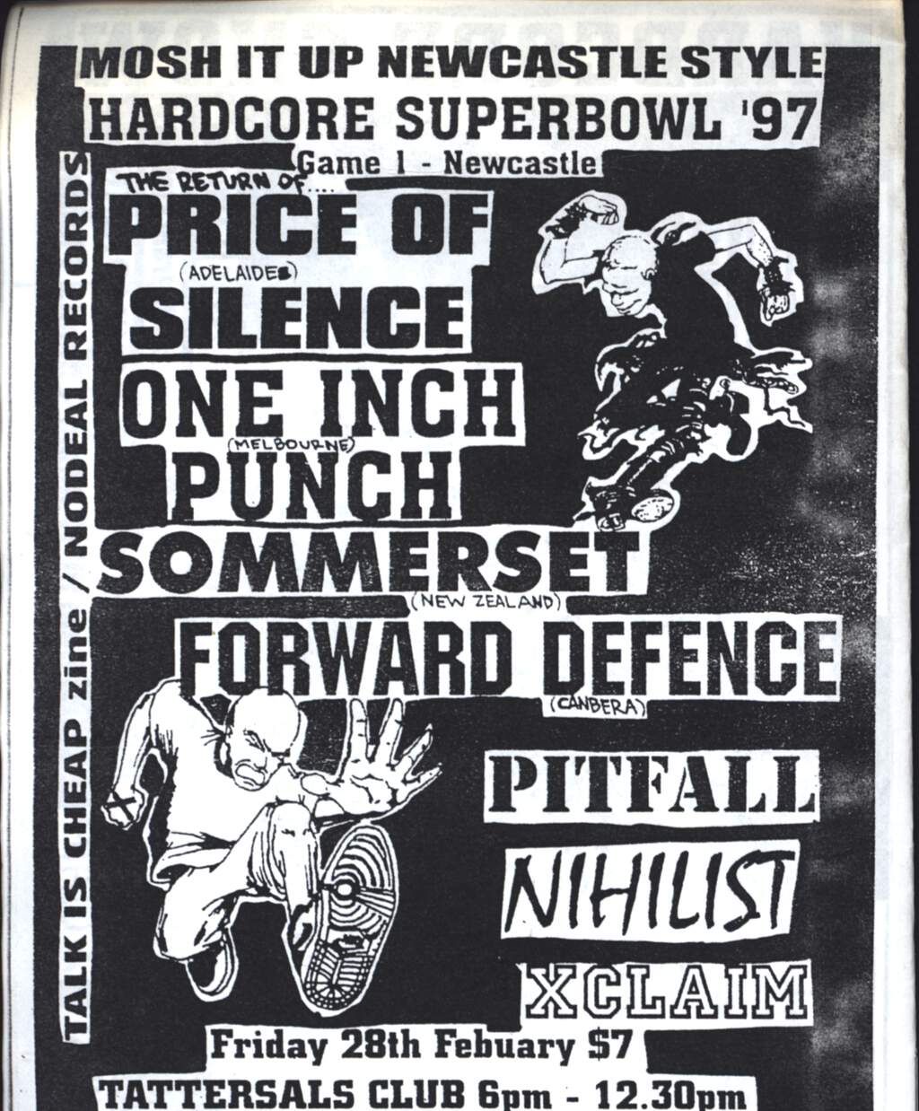 Various: Newcastle Hardcore Superbowl, CD