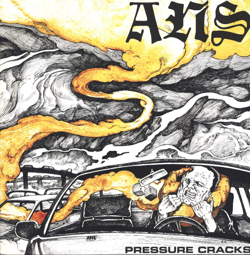 "ANS: Pressure Cracks, 12"" Maxi Single (Vinyl)"