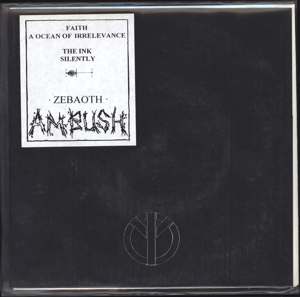"Ambush: Zebaoth, 7"" Single (Vinyl)"