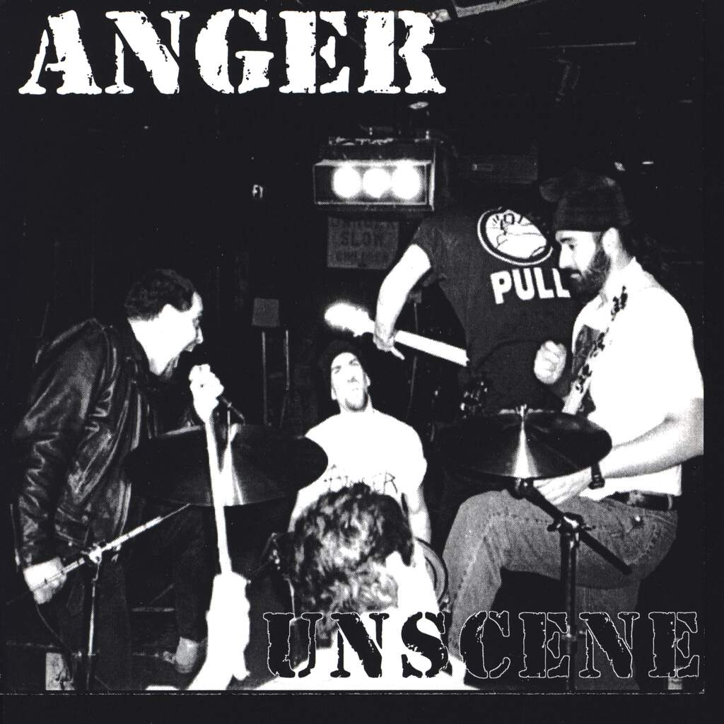 "Anger: Unscene, 7"" Single (Vinyl)"