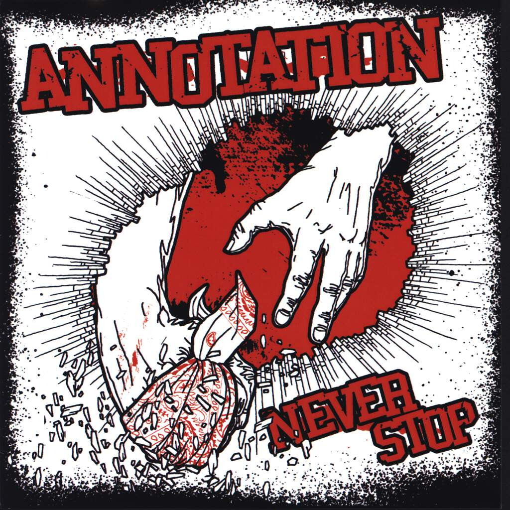 "Annotation: Never Stop, 7"" Single (Vinyl)"