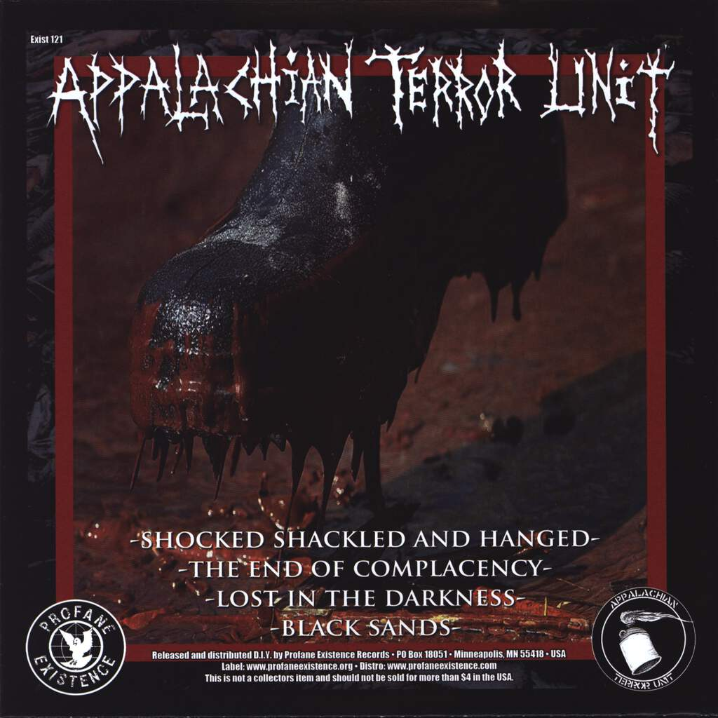 "Appalachian Terror Unit: Black Sands, 7"" Single (Vinyl)"