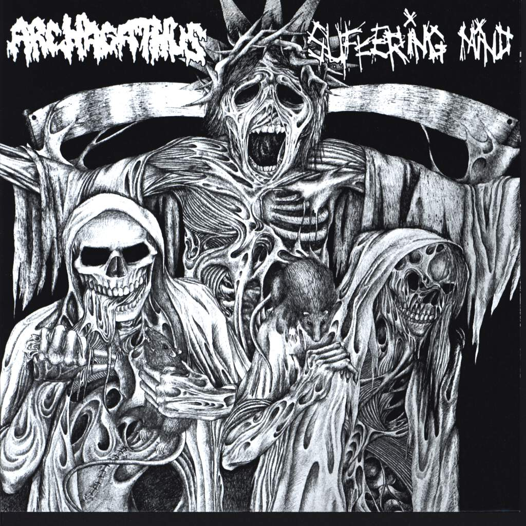 "Archagathus: Archagathus / Suffering Mind, 7"" Single (Vinyl)"