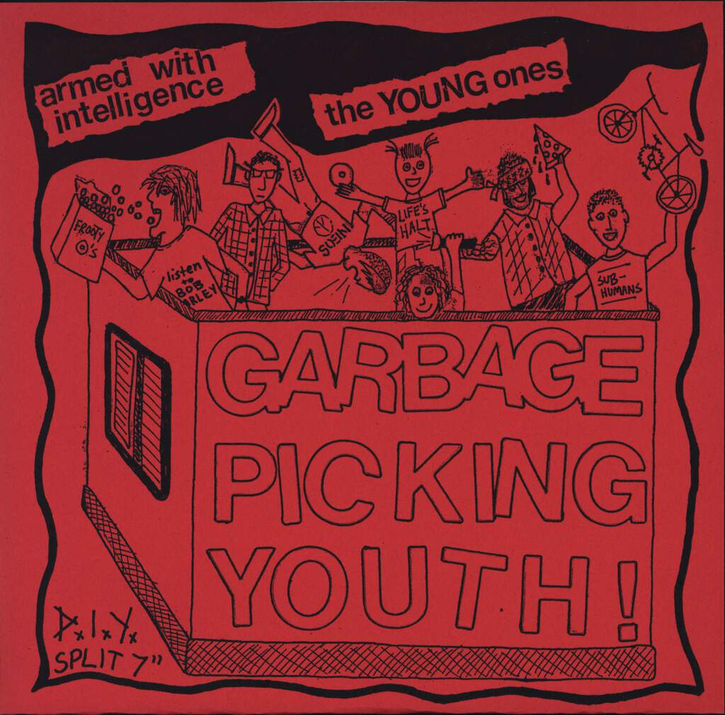"Armed With Intelligence: Garbage Picking Youth !, 7"" Single (Vinyl)"