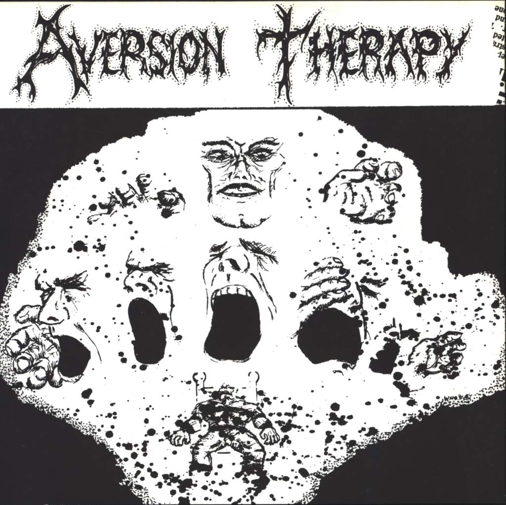 "Aversion Therapy: Blurred Visions, 7"" Single (Vinyl)"