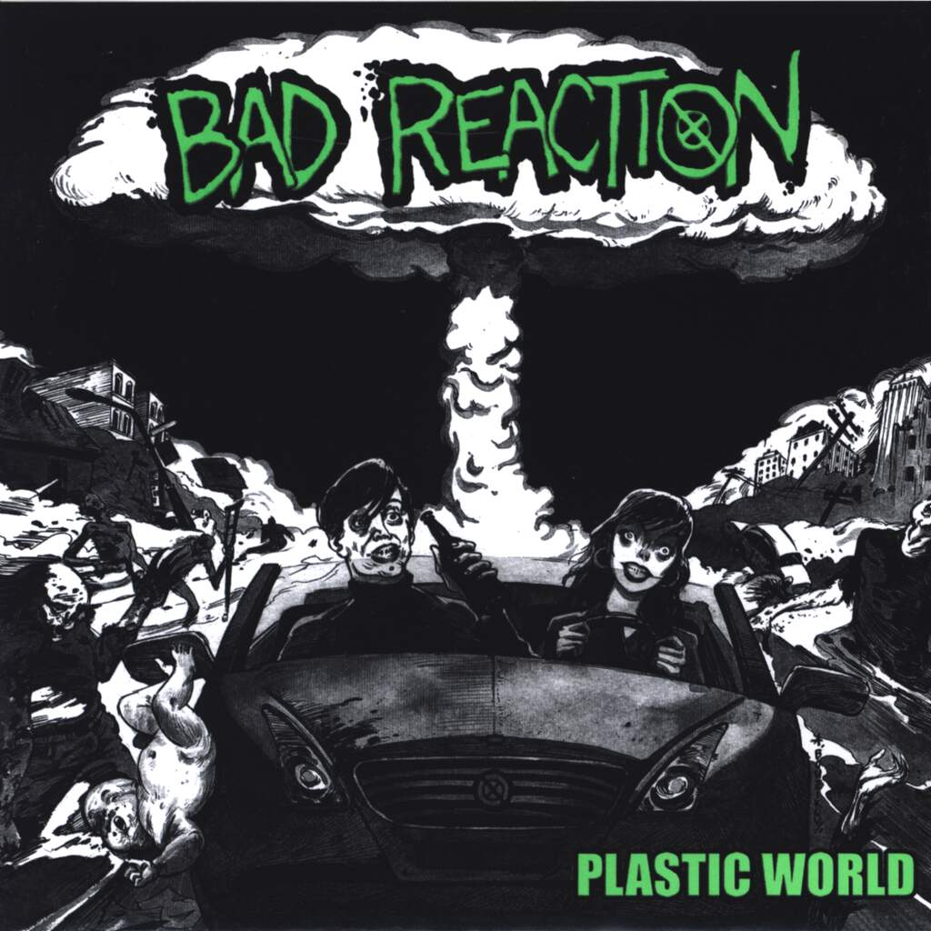 "Bad Reaction: Plastic World, 7"" Single (Vinyl)"