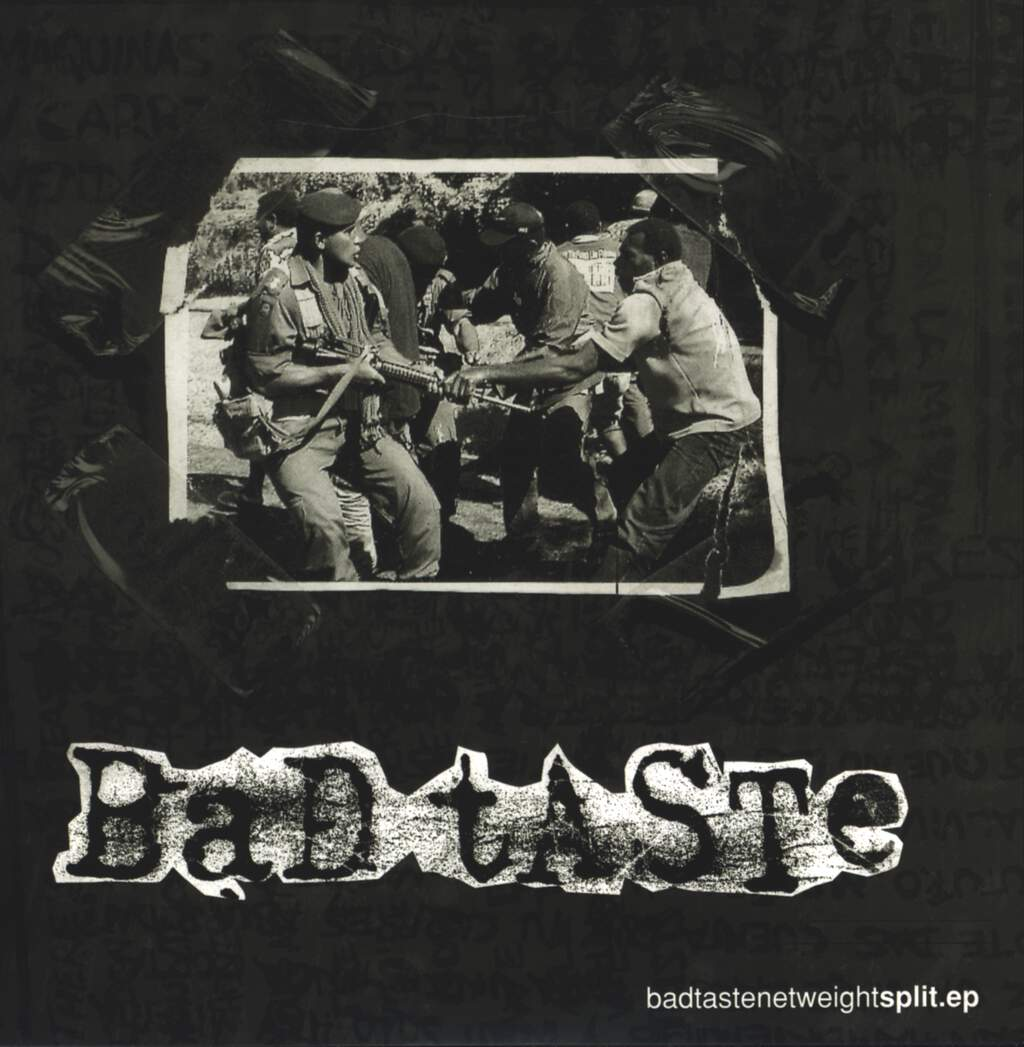 "Bad Taste: Split E.P., 7"" Single (Vinyl)"