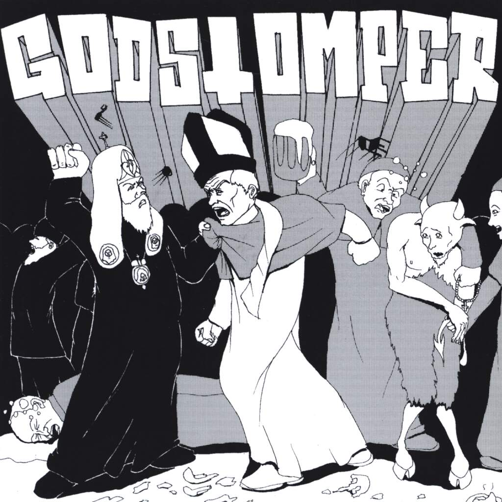 "Godstomper: Godstomper / Barbarian Lord, 7"" Single (Vinyl)"