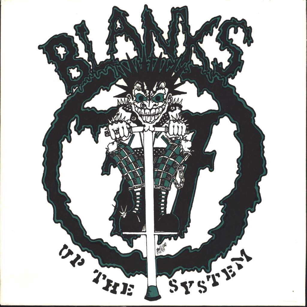"Blanks 77: Up The System, 10"" Vinyl EP"