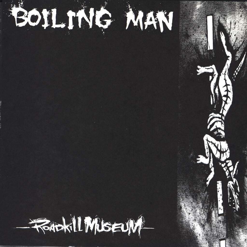 "Boiling Man: Roadkill Museum, 7"" Single (Vinyl)"