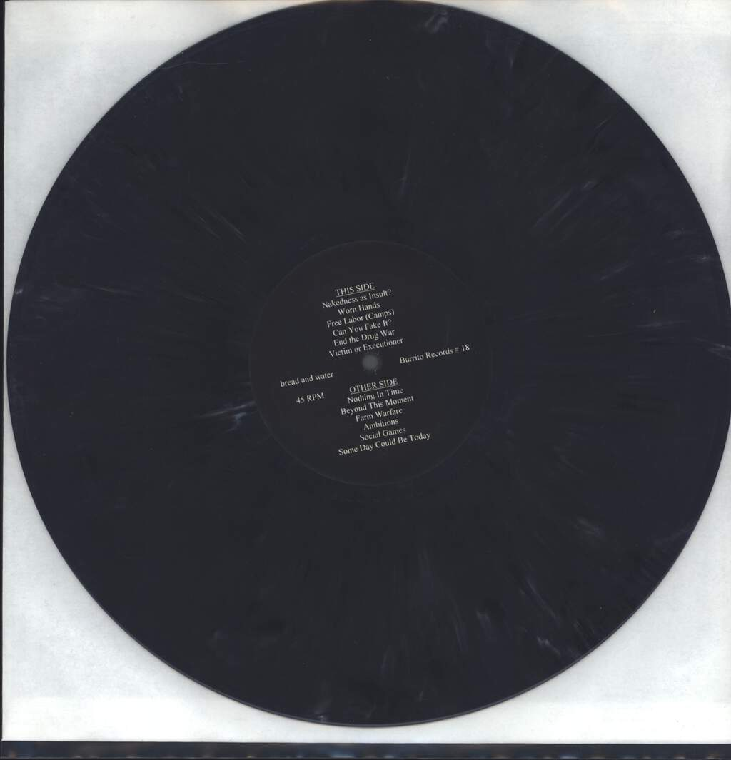 "Bread And Water: Bread And Water, 12"" Maxi Single (Vinyl)"
