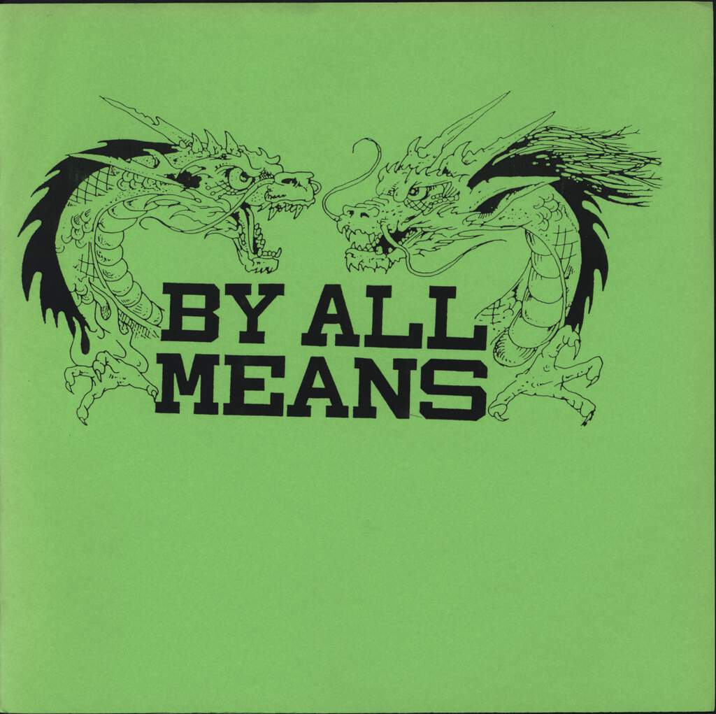 "By All Means: By All Means, 7"" Single (Vinyl)"