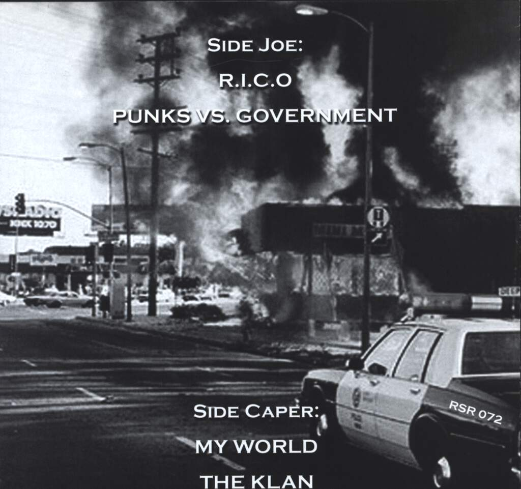"Joe Caper: Punks Vs. Government E.P., 7"" Single (Vinyl)"
