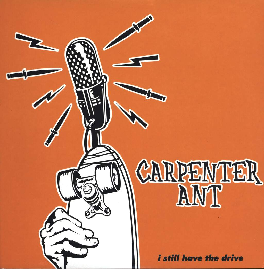 "Carpenter Ant: I Still Have The Drive, 12"" Maxi Single (Vinyl)"