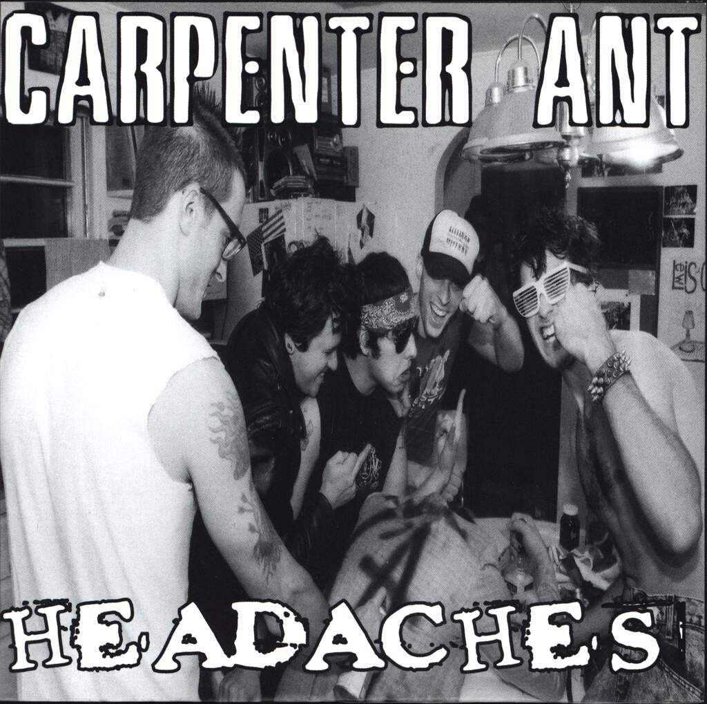 "Carpenter Ant: Carpenter Ant / Headaches, 7"" Single (Vinyl)"