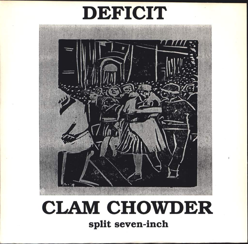 "Deficit: Split Seven Inch, 7"" Single (Vinyl)"