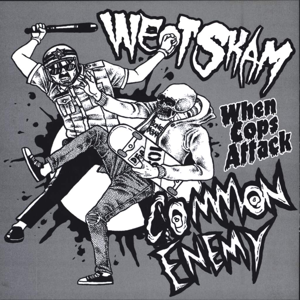 "Common Enemy: When Cops Attack, 7"" Single (Vinyl)"