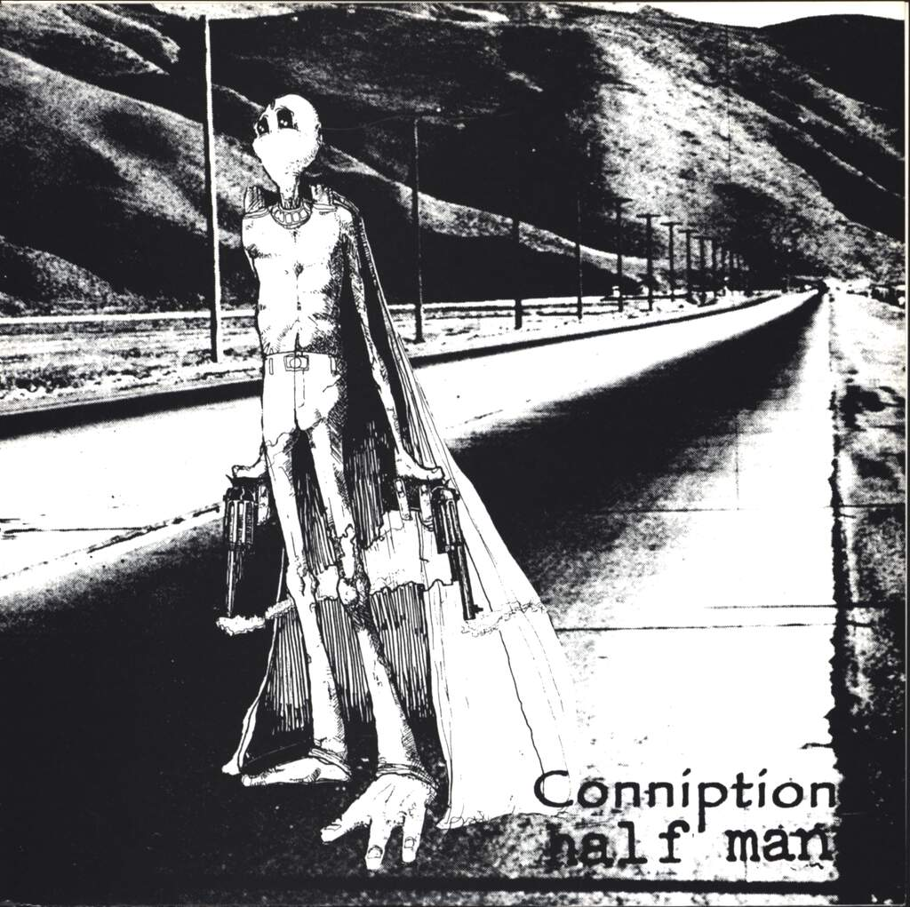 "Conniption: Conniption / Half Man, 7"" Single (Vinyl)"