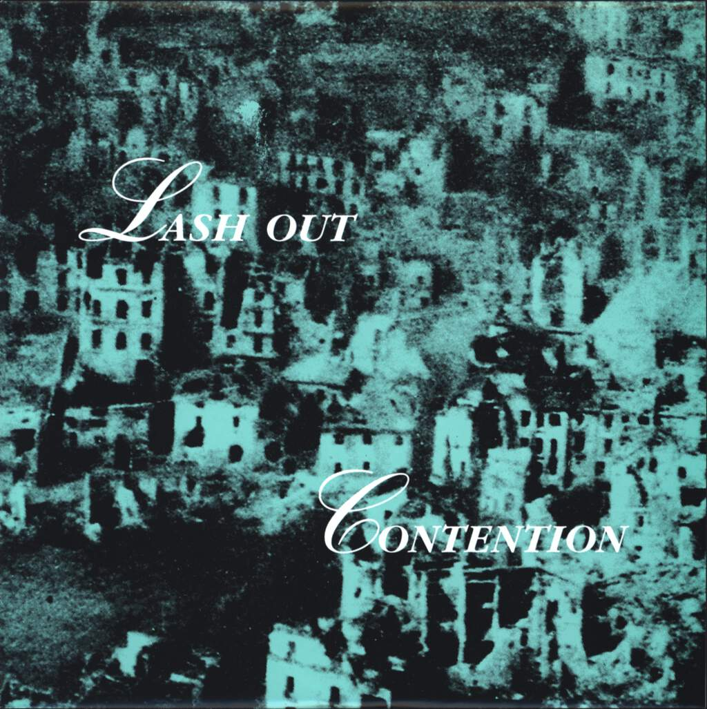 "Lash Out: Lash Out / Contention, 7"" Single (Vinyl)"