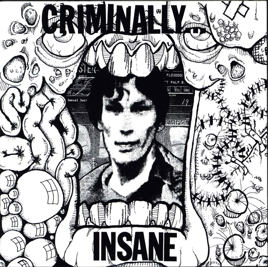 "Criminally Insane: Criminally Insane, 7"" Single (Vinyl)"