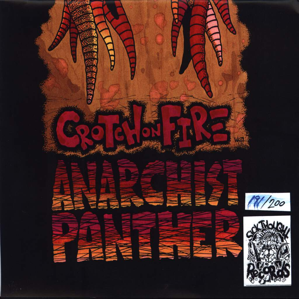 "Crotch On Fire: Anarchist Panther, 7"" Single (Vinyl)"