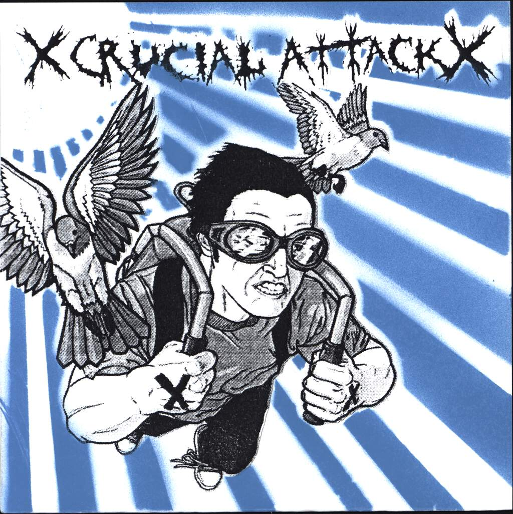 "Crucial Attack: Crucial Attack, 7"" Single (Vinyl)"