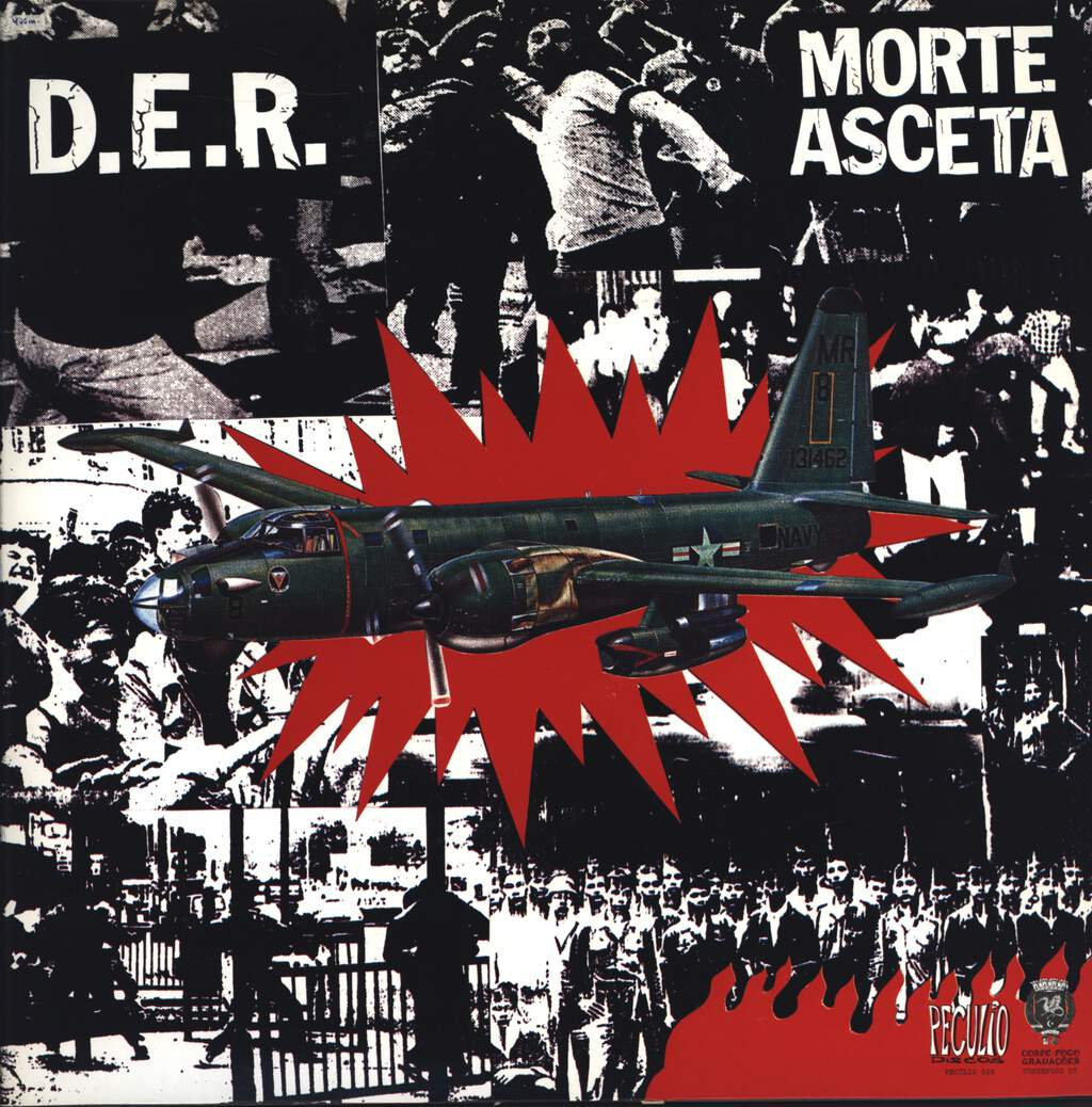 Morte Asceta: Morte Asceta / D.E.R., LP (Vinyl)