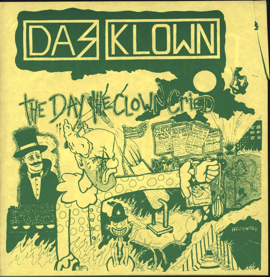 "Das Klown: The Day The Clown Cried, 7"" Single (Vinyl)"