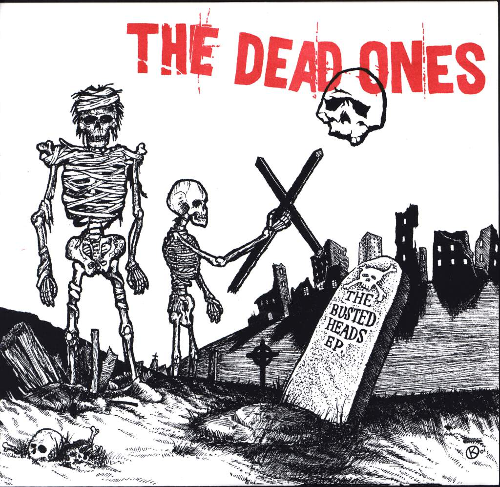 "The Dead Ones: The Busted Heads Ep., 7"" Single (Vinyl)"