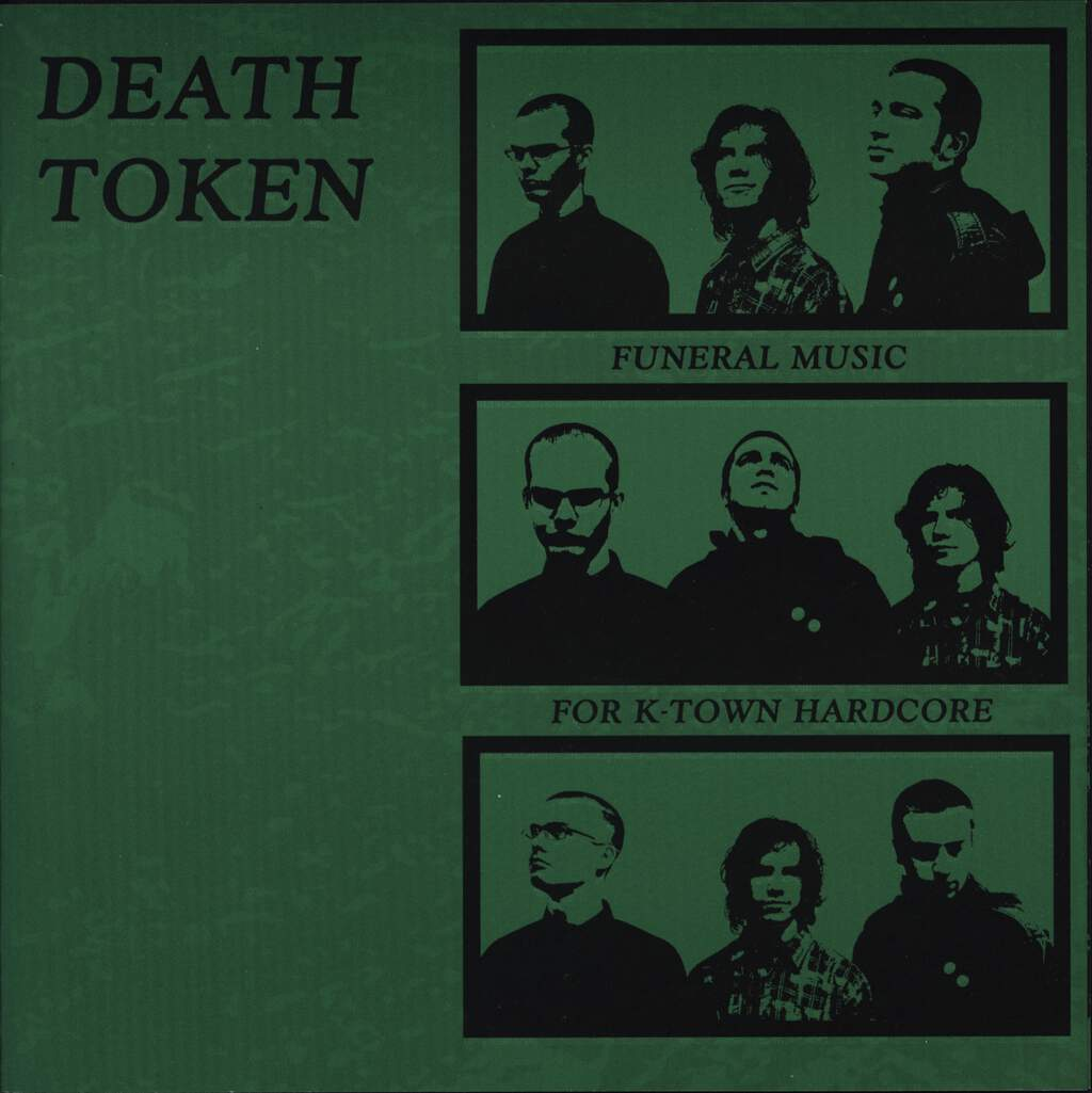 "Death Token: Funeral Music For K-Town Hardcore, 7"" Single (Vinyl)"